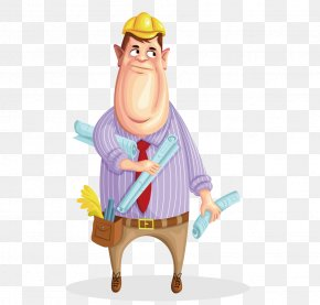 Under Construction Animated - Cartoon Vector Graphics Image Drawing Comics PNG