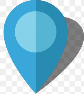 Light Blue - Map Blue Location PNG
