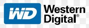 Western Digital Logo - Western Digital Hard Disk Drive Data Recovery Network-attached Storage Data Storage PNG