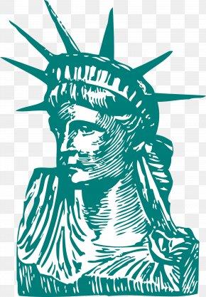 Statue Of Liberty - Statue Of Liberty Statue Of Freedom Clip Art PNG