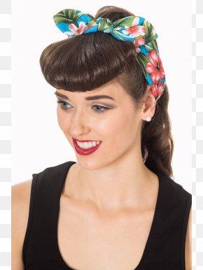 Dress - Headband Kerchief Retro Style Dress Fashion PNG