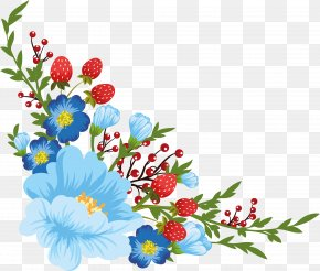 Flower - Floral Design Flower Clip Art Borders And Frames PNG