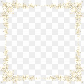 Rectangular French Pattern Border Picture - Placemat Area Pattern PNG