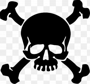 Piracy Jolly Roger Skull And Crossbones Clip Art PNG