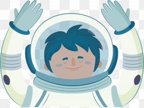 Astronaut Poster PNG