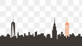 New York - New York City Skyline Clip Art PNG
