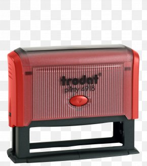 Kladblok - Trodat Printy 4918 Self Inking Rubber Stamp Trodat Printy 4918 Self Inking Rubber Stamp Sello Trodat Printy 4918 Trodat Mobile Printy 9411 Red PNG