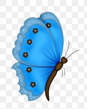 Blue Flowers Butterfly - Butterfly Paper Butterflies & Insects Butterflies In Colour PNG