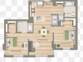 Cad Floor Plan - Architecture Property Floor Plan House Residential Area PNG