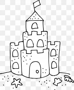 Castle Princess - Sand Art And Play Drawing Coloring Book Clip Art PNG