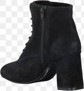 Boot - Suede Botina Shoe Absatz Boot PNG
