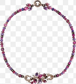 Necklace - Amethyst Necklace Jewellery Pearl Cartier PNG