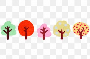Cartoon Tree - Tree Forest Watercolor Painting Cartoon PNG
