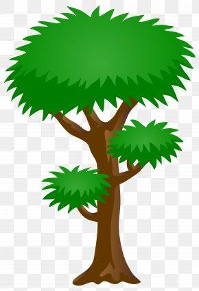 Green Tree Clip Art Image - Tree Green Clip Art PNG