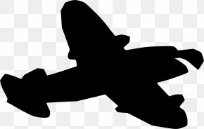 Airplane - Airplane Silhouette Clip Art PNG