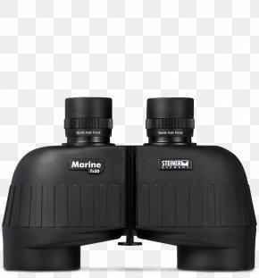 Binoculars Rear View - Binoculars Optics Porro Prism Marines PNG