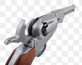 Colt Conversion Revolver - Trigger Firearm Revolver Gun Barrel PNG
