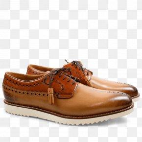 Gold Style Number 8 - Derby Shoe Beige Tassel Leather PNG