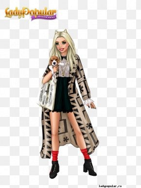Dress - Lady Popular Fashion Dress Game Clothing PNG