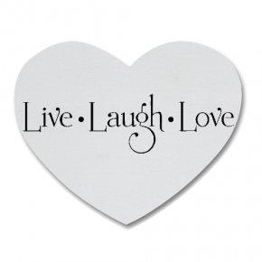 Love Heart Shape - Love Quotation Heart Illustration PNG