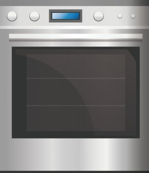 Oven - Microwave Oven Furnace Kitchen Stove PNG