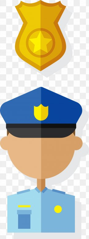Vector Police - Police Officer Police Car PNG