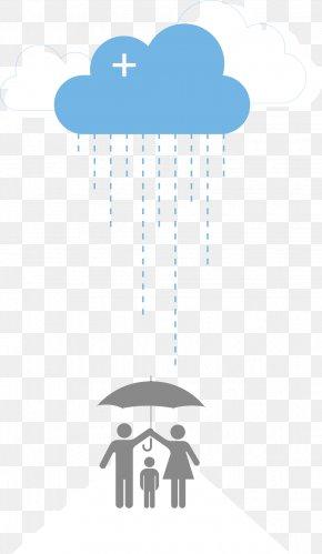 Vector Rain - Rain Cloud Drop PNG