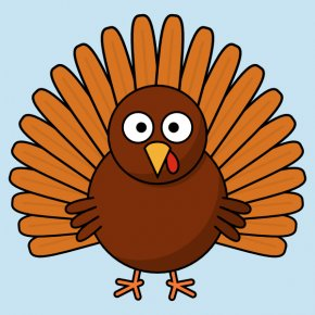 Huh Cliparts - Turkey Meat Cartoon Drawing Clip Art PNG