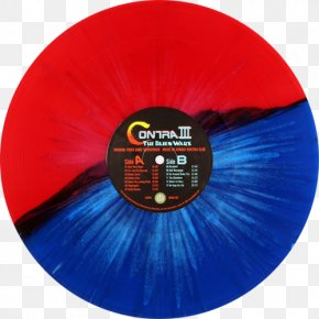 Rhomb - Contra III: The Alien Wars Original Video Game Soundtrack Contra: Hard Corps Phonograph Record PNG
