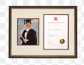 GRADUATION BORDER - University Of Sydney Diploma Western Sydney University Picture Frames Graduation Ceremony PNG