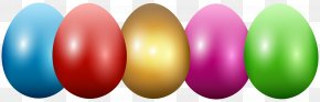 Easter Eggs Transparent Clip Art Image - Easter Egg PNG