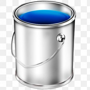 Bucket Image Free Download - Paint Iconfinder Icon PNG