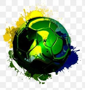 Brazilian Football - Brazil National Football Team 2014 FIFA World Cup PNG