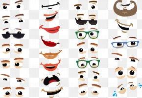 Vector Eyes - Eye Cartoon Facial Expression Icon PNG