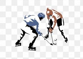 Hockey - Ice Hockey Hockey Stick Clip Art PNG