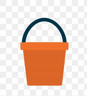 Vector Red Toilet Buckets - Bucket Icon PNG
