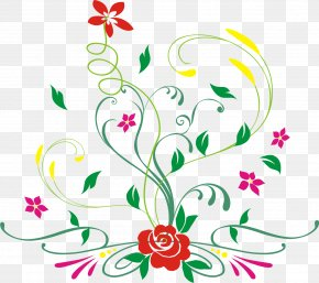 Floral Vector - Floral Design Flower PNG