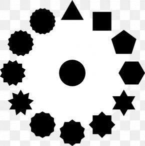 Circle - Star Polygon Circle Clip Art PNG