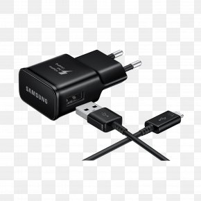 USB - AC Adapter USB Charger Samsung EP-TA20 EP-TA20 Mains Socket Quick Charge USB-C PNG