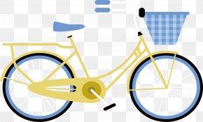 Yellow Bike - Bicycle Computer File PNG