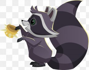 Spike - Raccoon National Geographic Animal Jam Over Spikes Collar Pet PNG
