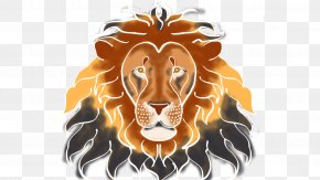 Cartoon Lion Head - Lionhead Rabbit West African Lion PNG
