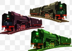 Retro Steam Train Creatives - Train Rail Transport Steam Locomotive Railroad Car PNG