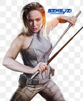 Cosplay - Sara Lance Black Canary Legends Of Tomorrow Caity Lotz Cosplay PNG