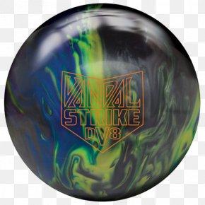 Pink Bowling Ball Brunswick - DV8 Vandal Strike Bowling Ball Bowling Balls DV8 Turmoil Pearl Bowling Ball PNG