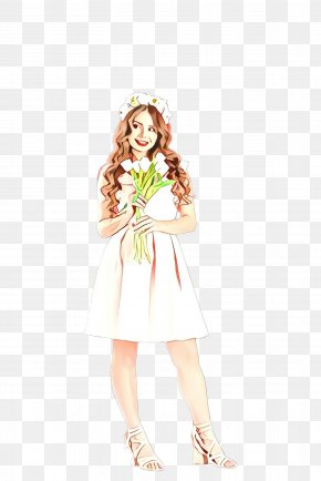Fashion Model Plant - Clothing Dress Day Dress Costume Design Fashion Design PNG