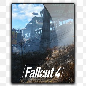 Free Fallout 4 Vector - Fallout 4 Fallout 3 The Elder Scrolls V: Skyrim PlayStation 4 PNG