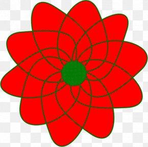 Dahlia Plant - Red Petal Flower Plant Dahlia PNG