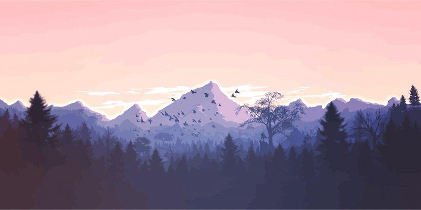 Mountain Desktop Wallpaper 4k Resolution Png 2400x1202px