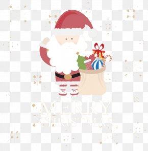 Santa Claus With Gifts Vector Material - Christmas Ornament Santa Claus Christmas Tree PNG